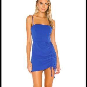 NWT Superdown Fabiana Mini Dress in blue